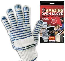 Heat Resistant Magic Oven Glove BBQ Baking Cooking Non Slip Silicone Grip 1 or 2