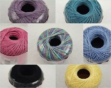 Aunt Lydia's #3 Cotton Crochet Thread Yarn Size 3 Select Color 5% Off $25 Order