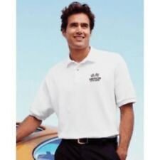 1 POLO SHIRT CUSTOMIZED WITH YOUR BUSINESS NAME OR TEXT LOGO, EMBROIDERED POLO