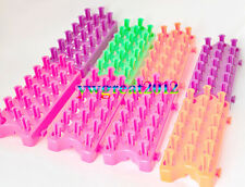 Any Package Assembly disassembly Weaver Frame Rainbow Loom Board Make Loom Bands