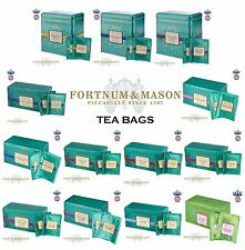 Fortnum & Mason LONDON UK English Tea Drink TEA BAGS 50's / 25's in a Famous TIN