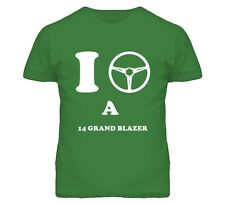 I Drive A 2014 Chevy Grand Blazer Steering Wheel Car T Shirt