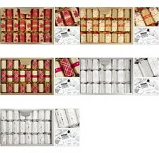 "Luxury Christmas Crackers 8 x 14"" Tree or Table Decoration"