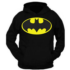 NEW BATMAN BLACK HOODIE PULLOVER