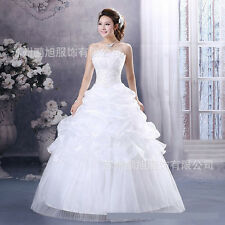 Hot Sale New Women's Organza Embroidered Lace Princess Ball Gown Dress