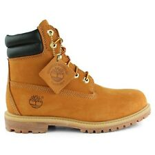 "Timberland Womens 6"" Inch Wheat Double Collar Waterproof Boots Style # 42687"