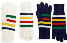 Canada Hudson's Bay HBC Collection 100% wool Handy Gloves Mittens one size adult