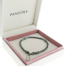 Authentic Pandora Silver Oxidised Bracelet 590700OX -Various Sizes- BOX INCLUDED