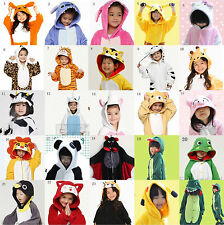HOT Children Kid Pajamas Kigurumi Unisex Cosplay Animal Costume Onesie Nightwear