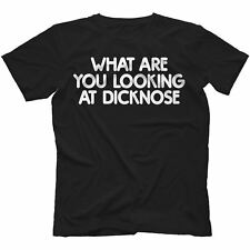 What Are You Looking At Dicknose T-Shirt in 13 Colours TEEN WOLF INSPIRED