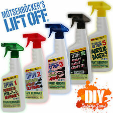 Motsenbocker's Lift Off Stain Removers #1 #2 #3 #4 #5 Food Grease Ink Paint Glue