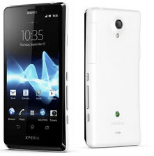 NEW UNLOCKED SONY XPERIA T (LT30P) 16GB WHITE/BLACK ANDROID SMARTPHONE