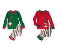 NWT Gymboree 2013 Holiday ELF 2-piece Pajamas/Gymmies Christmas Boy/Girl U Pick