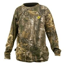 Scent Blocker Long Sleeve Camo Realtree Xtra Cotton T-Shirt Style CLT NWT