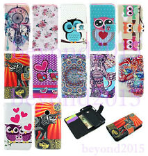 New Fashion Wallet Card Stand Print Leather Flip Case Cover For Nokia Lumia 530