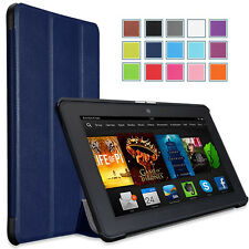 "MoKo Amazon Kindle Fire HDX 7"" Inch Ultra Slim Stand Cover Case - 8 Colors"