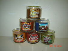 Bath and Body Works (3) 1.3 oz CANDLES, U Pick Scent/Fragrance