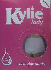 KYLIE LADY WASHABLE INCONTINENCE PANTS - LARGE - ABSORBENT -  BUY 1 GET 1 FREE