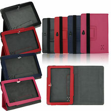 """Premium Leather Case Stand Cover Pouch Cover for 7"""" Universal Android Tablet PC"""