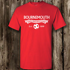 Bournemouth football t -shirt mens womans men's woman's ladies