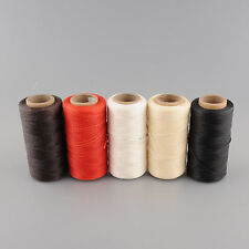 260Meter 1mm Leather Waxed Wax Thread Cord Sewing for DIY Tool Stitching