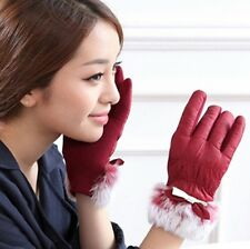Women Winter Skiing Down Warm Gloves Easy Click Touch Screen SmartPhone Gloves