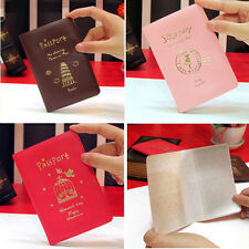 Passport Ticket Card Journey Travel Holder Cover Case Protector Skin 3 Colors