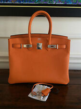 "HERMÈS BIRKIN BAG-35 (BRAND NEW - ""Q"" STAMP) 2013"