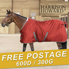 Harrison Howard 600D heavy weight 300g stable rugs horse ware Free Postage Xmas