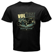 New VOLBEAT Let's Shake Some Dust Punk Rock Band Men's Black T-Shirt Size S-3XL