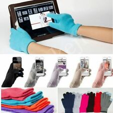 Knit Unisex Magic Touch Screen Gloves For IPhone6/IPad/Samsung Winter Mittens
