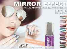 Layla Cosmetics Mirror effect nail polish - lacquer Made in ITALY 10ml