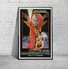 Flash Gordon Classic 80's Sci-Fi Movie Film Poster Print Picture A3 A4