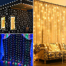 300/600/900/2400 LED Fairy String Curtain Light for New Year Christmas Party