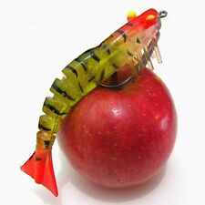 New Fishing Tackle Lures Luminous Shrimp Simulation Barb Hooks Multi-functional