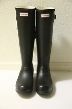 NEW in box HUNTER Original Tall Rain Boot black matte women size US 5 6 7 8 9 10
