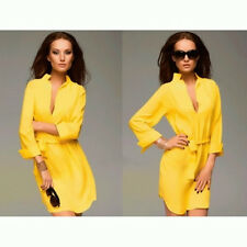 2014 Woman's Spring New Sexy Deep V-neck Fashion Commuter Loose Casual Dress