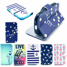 Selection Prema Wallet Flip PU Skin Case Shell For Samsung Galaxy Fame GT-S6810