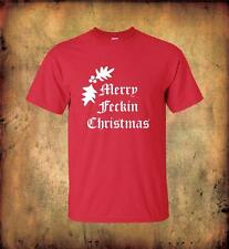 Merry Feckin Christmas T Shirt Mrs Browns Boys Office Home Christmas party Xmas