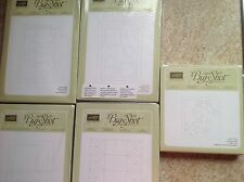 NEW - RETIRED! Stampin' Up! Sizzix Big Shot Dies, Framelits & Embossing - NIP