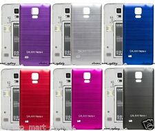 Aluminium Metal Housing Battery Back Case Cover for Samsung Galaxy Note 4