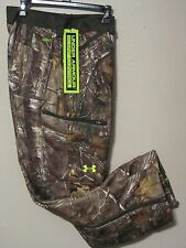 NWT$150 UNDER ARMOUR MENS RUT SCENT CONTROL CAMO PANTS 1236908 946 REAL TREE 44