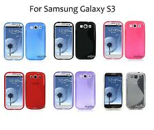 TPU Silicone Back Soft Case Cover for Samsung Galaxy S3 SGH-I747M