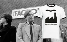 Factory Records T Shirt Ringer Tee Music Rock Band Tour Mens New Order New