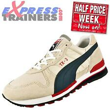 Puma Mens TX-3 Classic Casual Premium Retro Running Trainers Stone *AUTHENTIC*