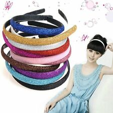 Hot Lady Girls Sweet Shining Headband Hair Band Candy Color Party Prom Headwear