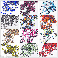 Wholesale DMC HotFix SS10 3mm 10Facets Iron On FlatBack Crystal Glass Rhinestone
