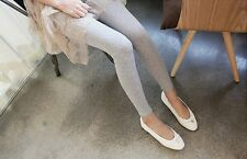 Women Sexy Candy Stretch Skinny Faux Modal Cotton High Waist Legging Pant Tight