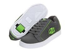 Heelys Inferno Grey/Lime Green/White size 1/32 RUN SMALL LIKE 13 Skate Shoe New