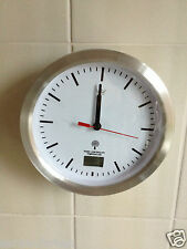 NEW BATHROOM RADIO CONTROLLED CLOCK BATHROOM CLOCK WITH SUCTION CUPS